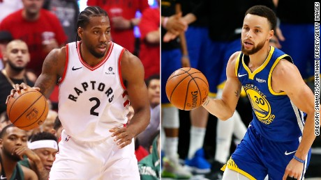 Kawhi Leonard and Stephen Curry lead the Raptors and Warriors into the NBA Finals.