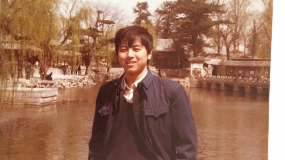 Tiananmen convict, Dong Shengkun, in 1989 before he was imprisoned by the Chinese government.