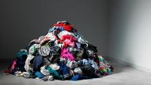 """Greenhouse gas emissions don't just come from airplanes, factories and coal power stations. Our environmental footprint is spread across a huge range of everyday goods, from the videos we watch online to the water we drink. <br /><br />The fashion industry is responsible for <a href=""""https://unfccc.int/news/un-helps-fashion-industry-shift-to-low-carbon"""" target=""""_blank"""">about 10% </a>of global greenhouse emissions, according to the United Nations Framework Convention on Climate Change.<br /><br />It consumes more energy than aviation and shipping industries combined. Most of those emissions come from its long supply chains and energy-intensive production -- especially the dyeing and finishing process."""