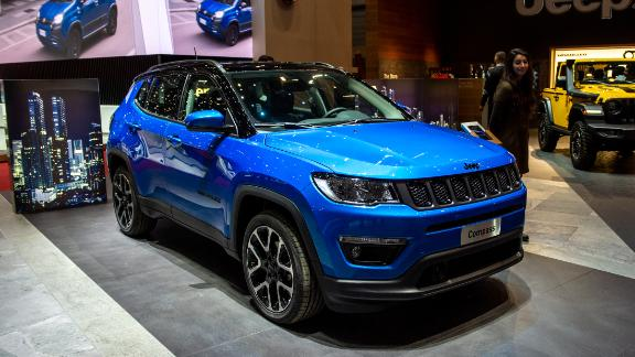 GENEVA, SWITZERLAND - MARCH 05: Jeep Compass is displayed during the first press day at the 89th Geneva International Motor Show on March 5, 2019 in Geneva, Switzerland. (Photo by Robert Hradil/Getty Images)
