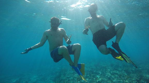 Sam Teicher and Gator Halpern, Coral Vita's founders, hope to help reefs worldwide adapt to the impacts of climate change.