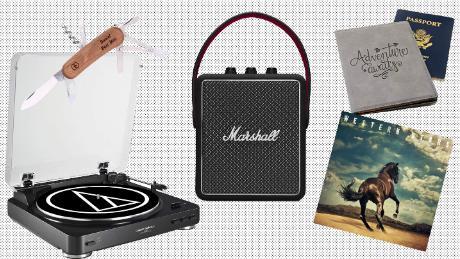 a0c0b28f Nostalgic Father's Day Gifts: A rockin' record player, a Swiss army ...