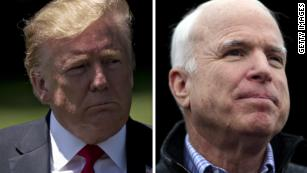 Fact check: Trump says he's done more for veterans than John McCain did -- while taking credit for McCain's veterans bill