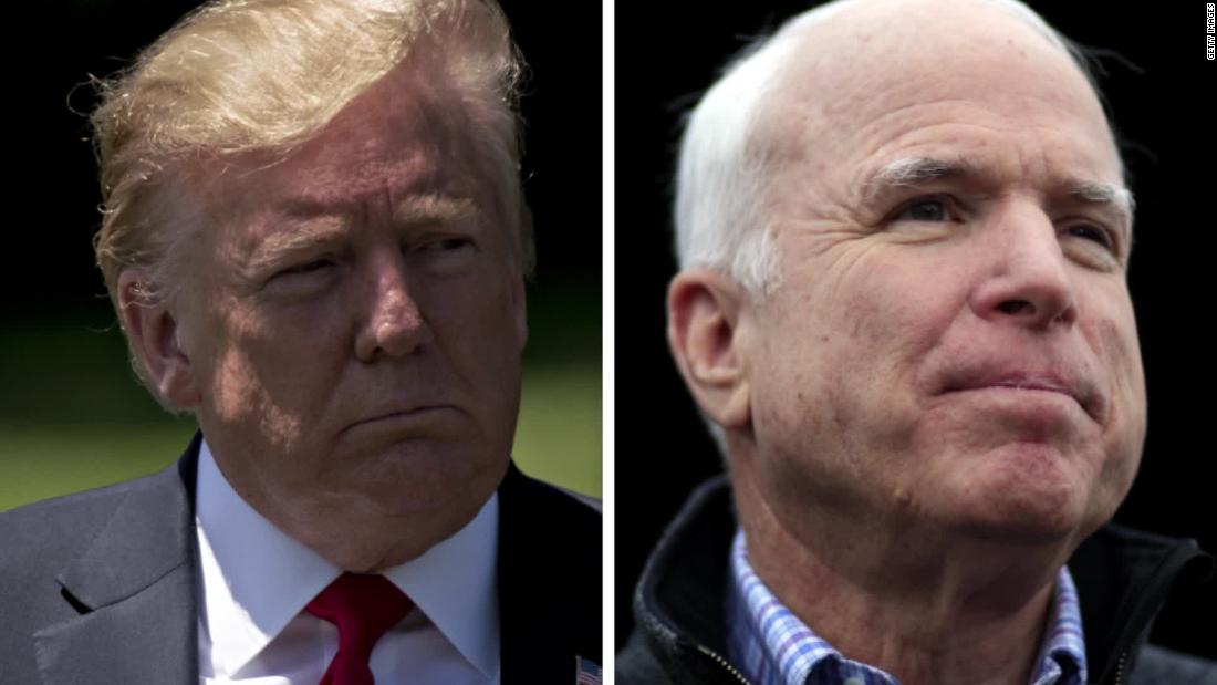 Fact check: Trump says he's done more for veterans than John McCain did — while taking credit for McCain's veterans bill – CNN