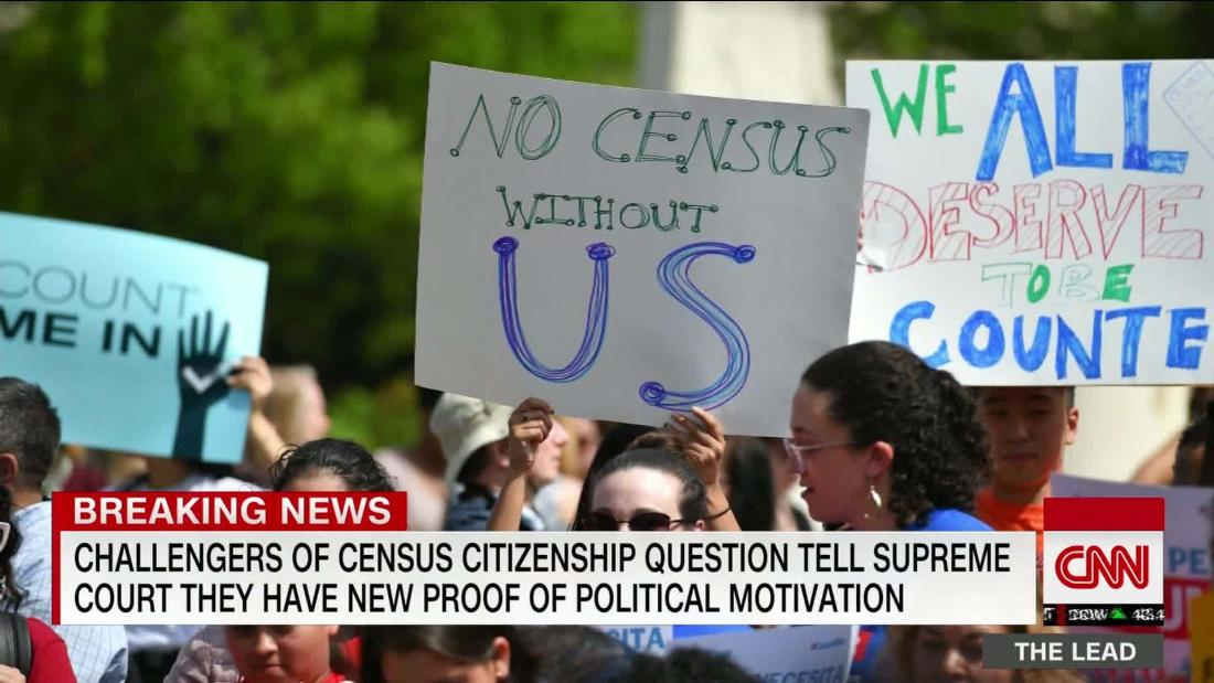 Challengers of census citizenship question say new evidence proves political motivation