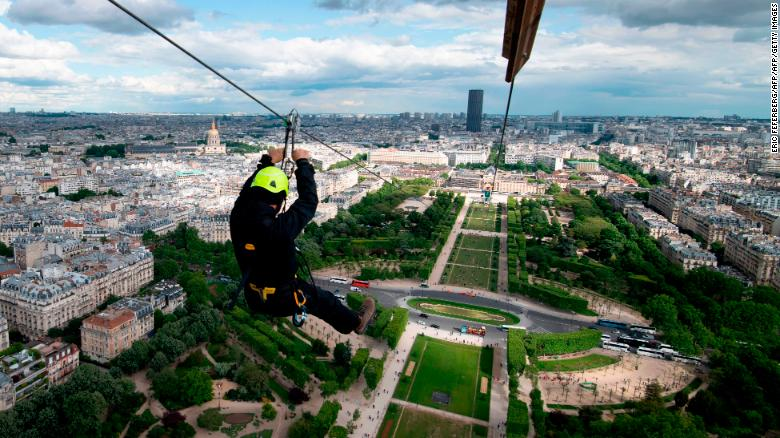 See the Eiffel Tower's new attraction