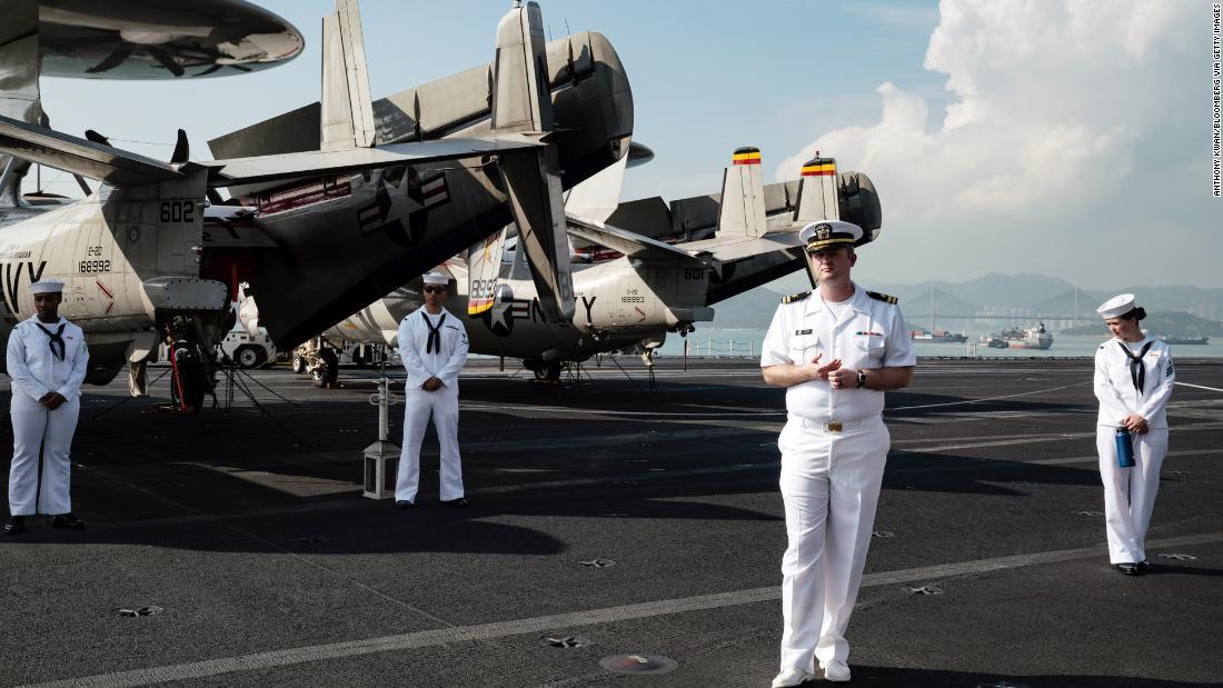 US Navy to send two aircraft carriers and several warships to South China Sea – CNN
