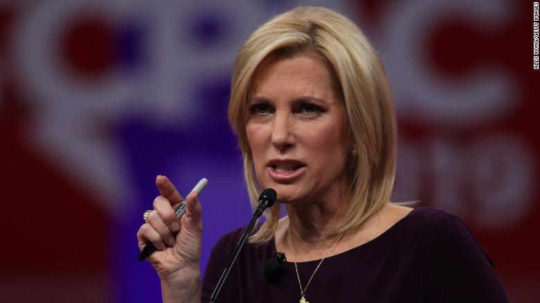 Fox News stands by Laura Ingraham after she defends white supremacist,  other extremists on her prime time show - CNN