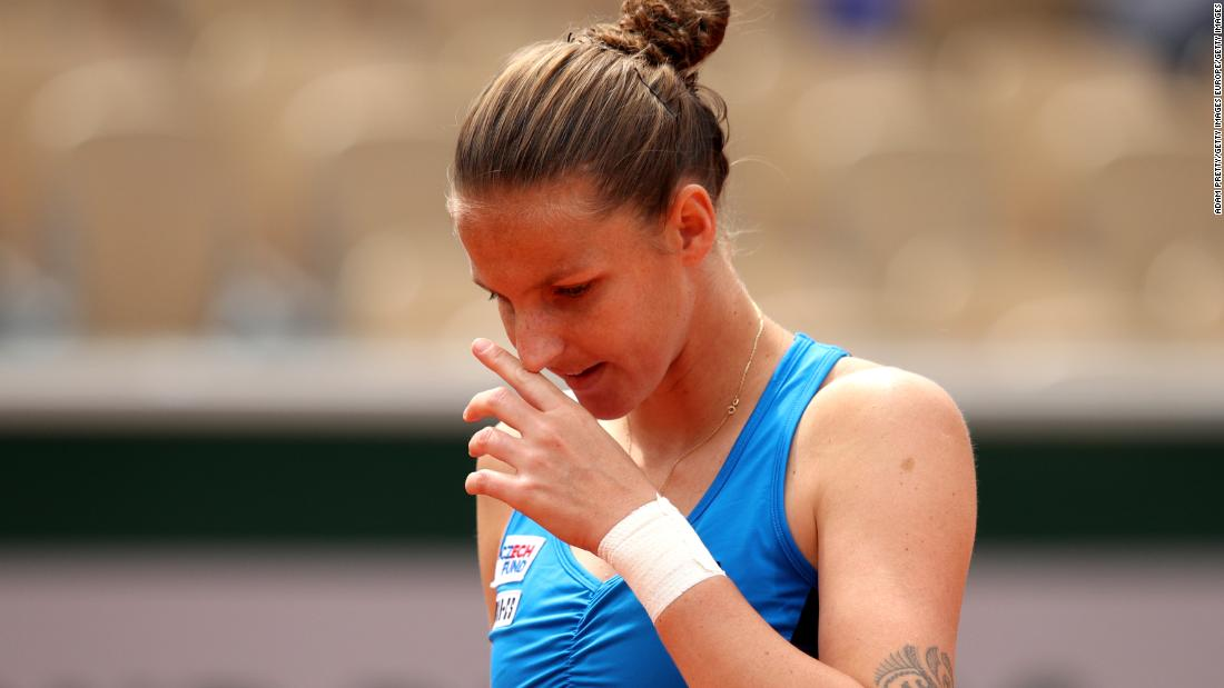 But women's second-seed Karolina Pliskova fell in straight sets to Petra Martic.