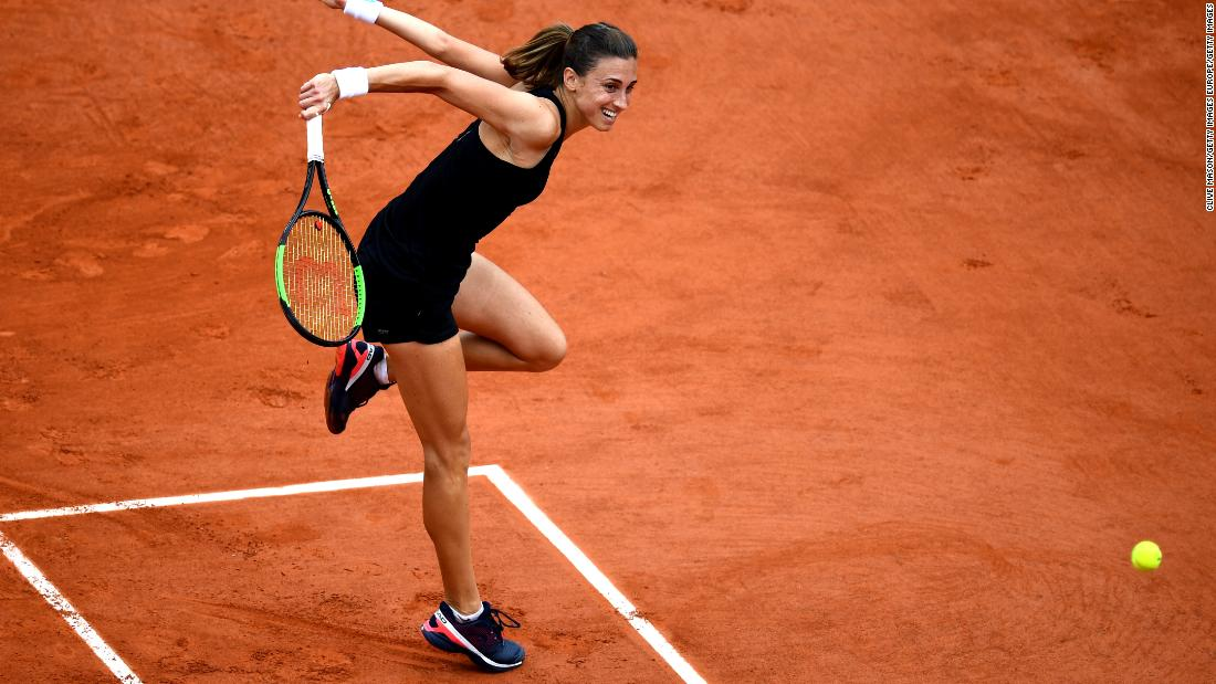 Croatia's Martic has momentum, recently winning her first title in Istanbul.