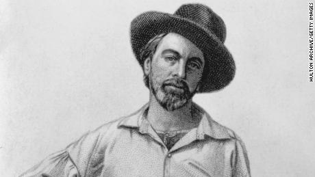 Walt Whitman (1819 - 1892), July 1854.