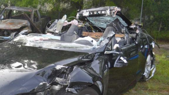 Joshua Brown died in 2016 when his Tesla crashed into a tractor-trailer, ripping off the roof.