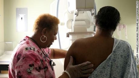 A recent study suggests widespread screening for breast cancer didn't do much to save women's lives. (Heather Charles/Chicago Tribune/TNS via Getty Images)