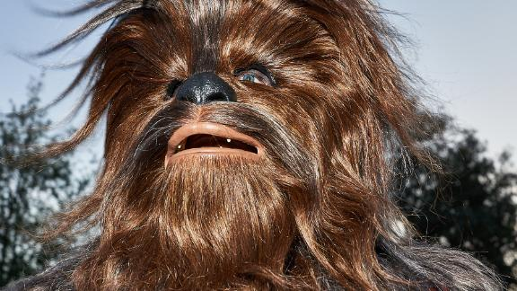 Chewbacca can be found at Galaxy