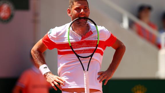 Krajinovic, who had won his first two matches in five sets, could have played in another. He led the fourth 5-3 and held a set point in the fourth-set tiebreak.