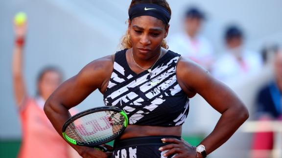 Serena Williams exited the French Open on Saturday to her fellow American Sofia Kenin in the third round.