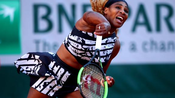 Williams, bidding for a 24th major, rallied in a second set but fell 6-2 7-5. A knee injury hampered the 37-year-old in the buildup.