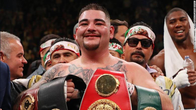 Andy Ruiz Jr  becomes heavyweight champion after upset