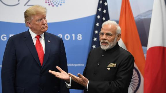 India and the United States have a trading relationship worth around $125 billion.