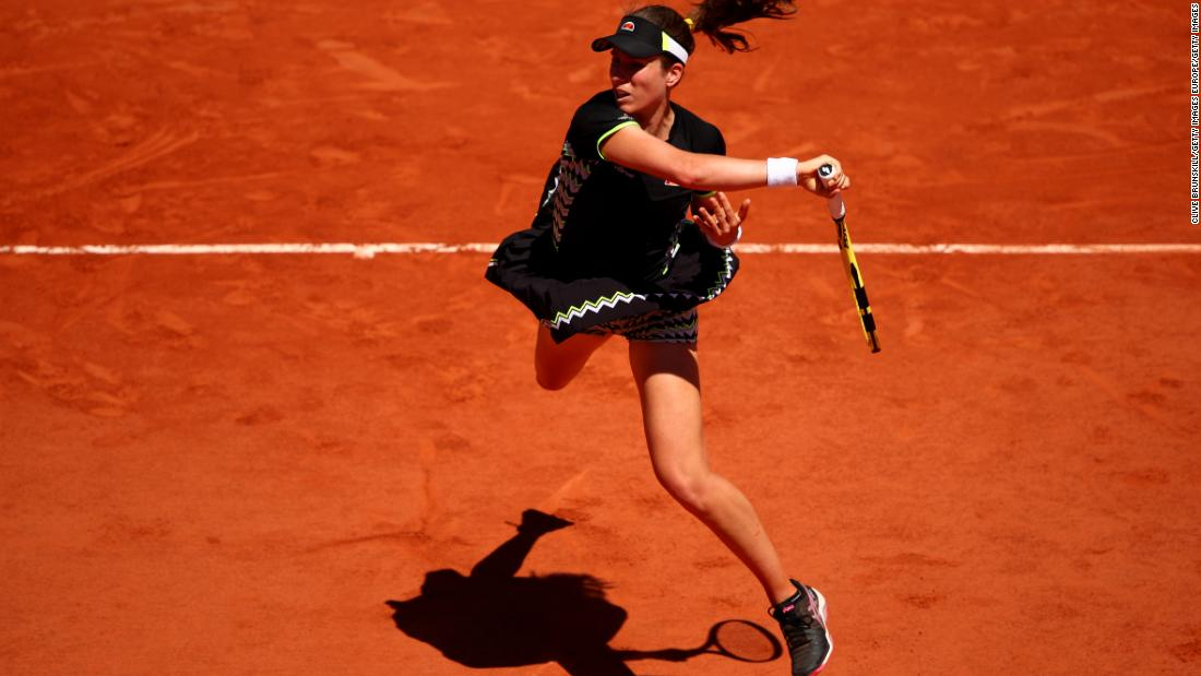 Like Martic and Vondrousova, Johanna Konta also flourished on the clay heading into Roland Garros. When she made the quarterfinals, she became the first British woman to do so in Paris since Jo Durie in 1983.
