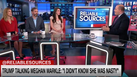 Trump calls Meghan Markle