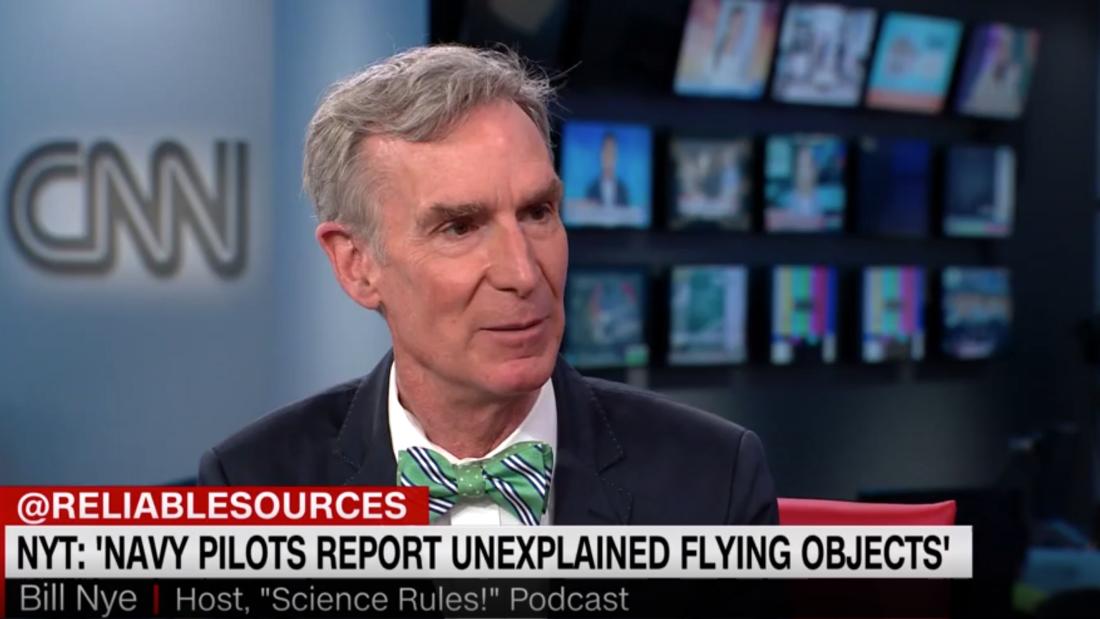 Bill Nye's explanation for strange UFO sightings