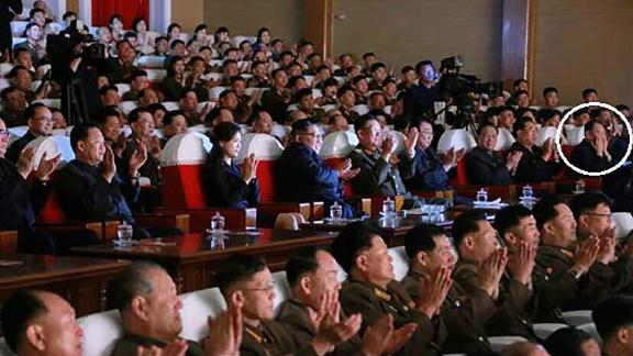 North Korea chief negotiator Kim Yong Chol appears in state media after reports of purge -- circled in white