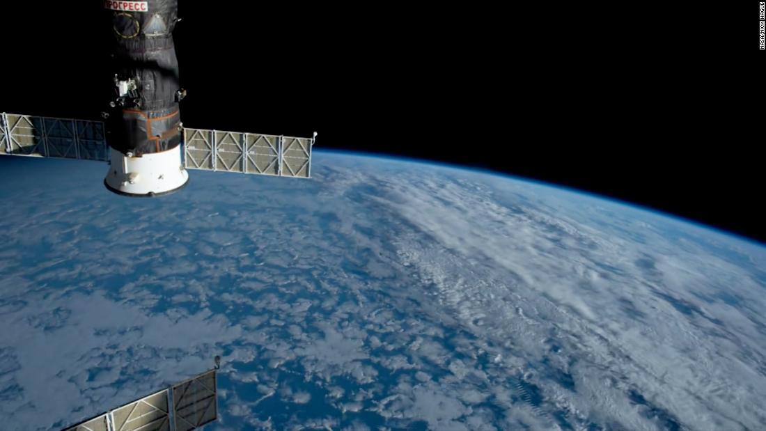 NASA astronaut captures stunning timelapse - CNN Video