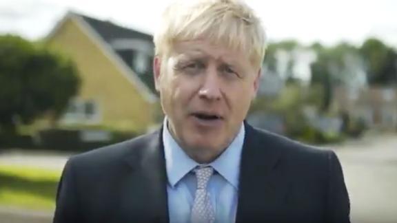 A screengrab from Boris Johnson's leadership campaign launch video.