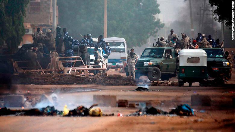 Image result for sudan crackdown