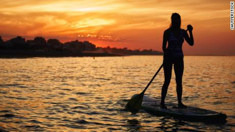 Breaking Paddleboard Records to Fight Pollution