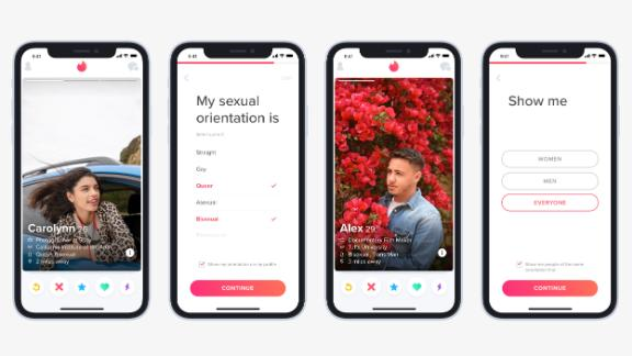Tinder adds sexual orientation feature to better match LGBTQ users.