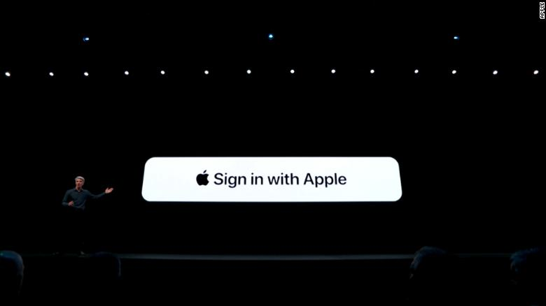 Apple says 'sign in with Apple' offers more privacy