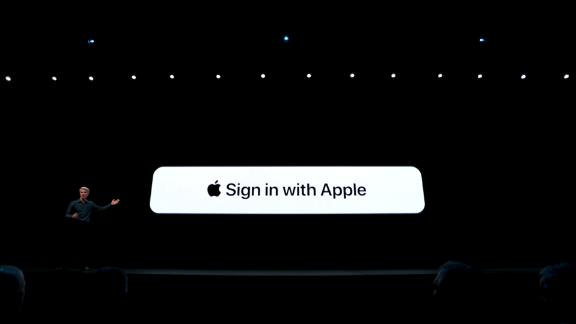 Apple unveiled its new login button that it says protects user data in third party apps.