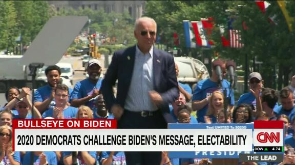 Image for CNN Poll: Biden continues to lead crowded Democratic field