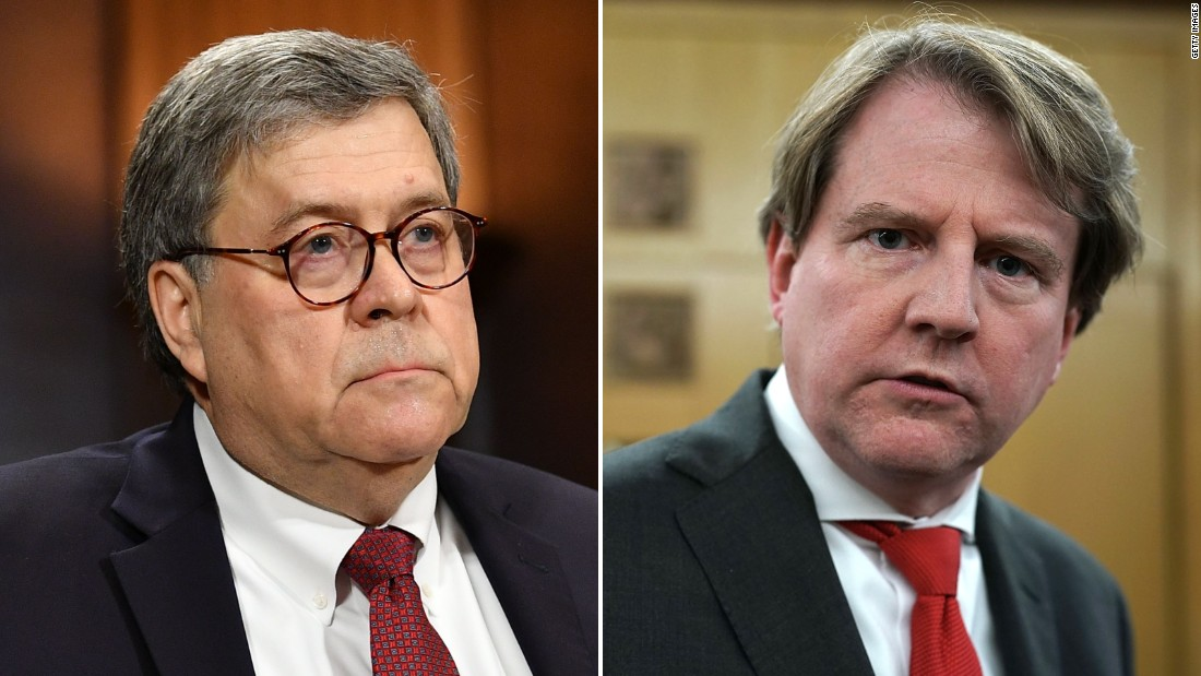 House approves resolution to enforce McGahn, Barr subpoenas in court