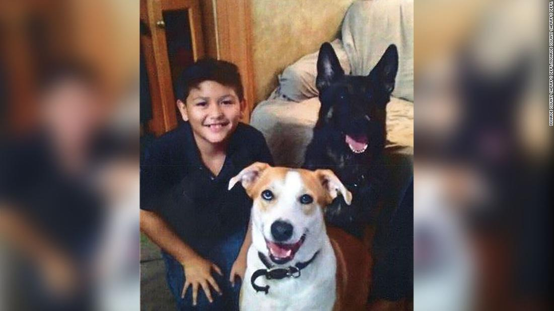 A 12-year-old boy who was starved, chained and kept in a dog collar died. His mother never knew he left the state