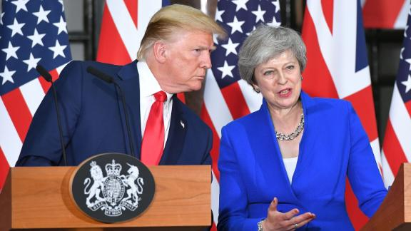 US President Donald Trump and Britain