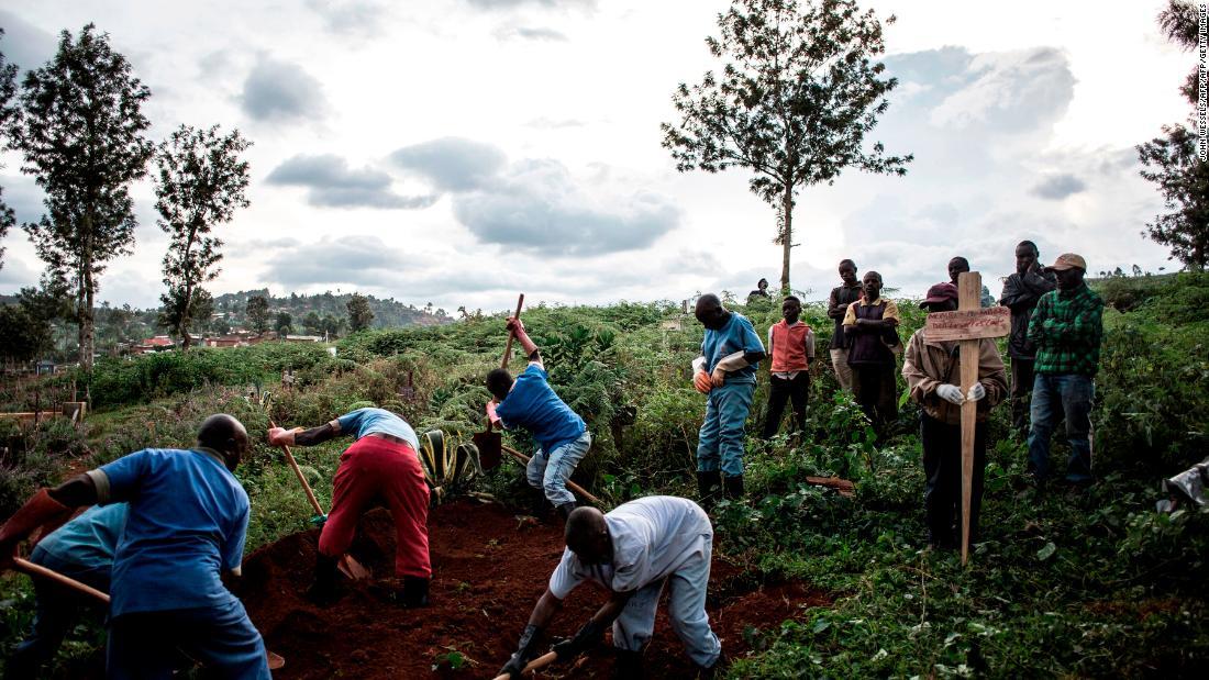 Case of Ebola confirmed in Congo city of Goma