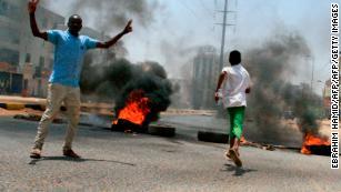 Why social media is going blue for Sudan