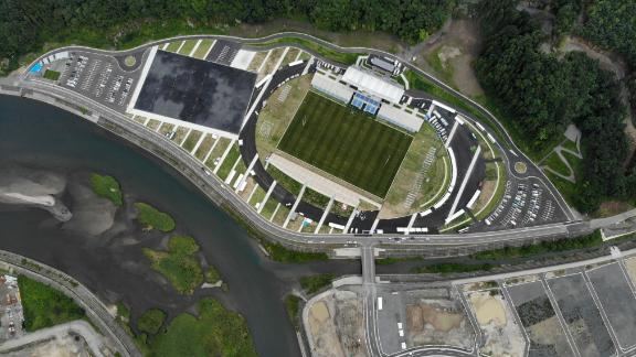 What: Kamaishi Recovery Memorial Stadium Capacity: 16,334 Where: Kamaishi City, Iwate Prefecture Matches: Fiji vs Uruguay; Namibia vs Canada
