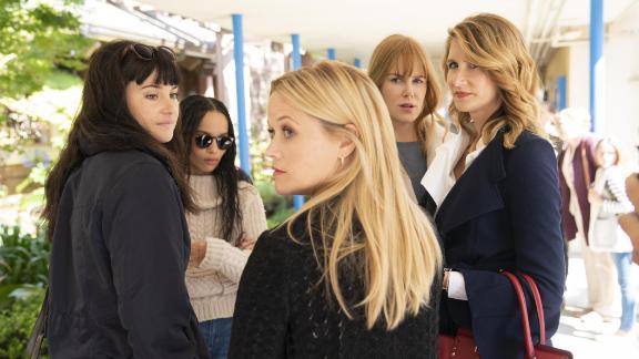Shailene Woodley, Zoë Kravitz, Reese Witherspoon, Nicole Kidman, Laura Dern.