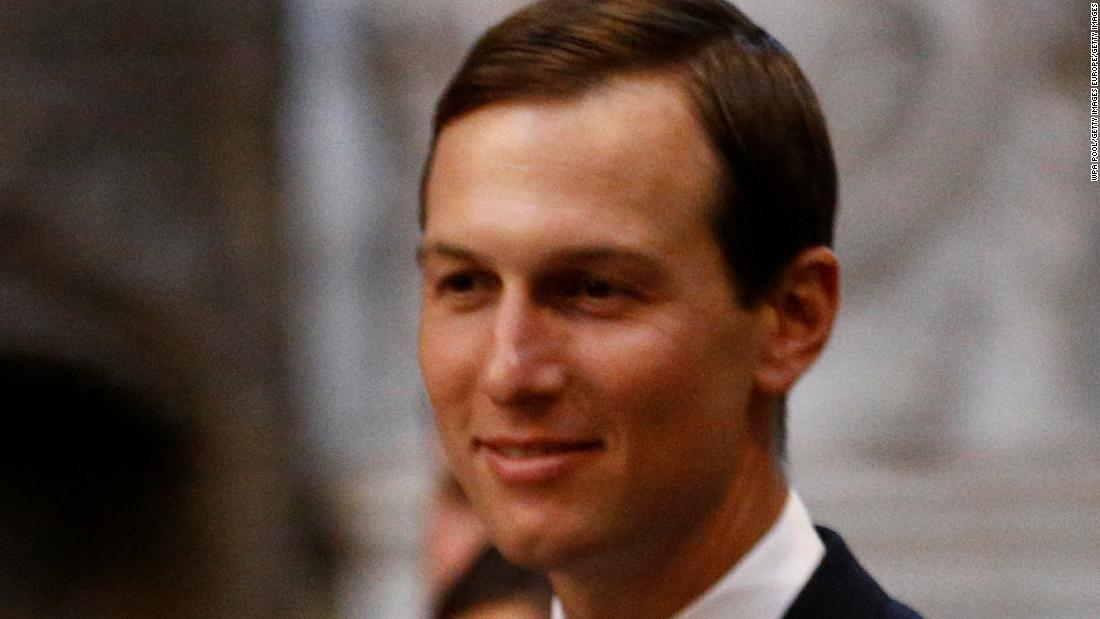 Kushner says peace deal is needed for Palestinian economic plan to succeed