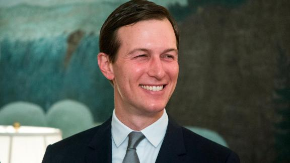 WASHINGTON, DC - MARCH 25: (AFP OUT) Senior Advisor to US President Trump, Jared Kushner, attends an event where US President Donald J. Trump (unseen) signed an order recognizing Golan Heights as Israeli territory in the presence of Prime Minister of Israel Benjamin Netanyahu (unseen), in the Diplomatic Reception Room of the White House March 25, 2019 in Washington, DC. Trump signed an order recognizing Golan Heights as Israeli territory.Netanyahu is cutting short his visit to Washington due to a rocket attack in central Israel that had injured seven people. (Photo by Michael Reynolds - Pool/Getty Images)