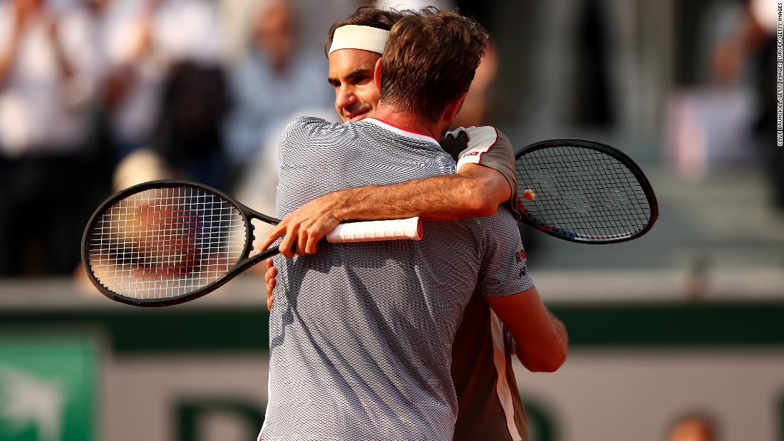 Federer improved to 23-3 against his pal and 5-3 on clay. He is looking for a first win against Nadal at Roland Garros.