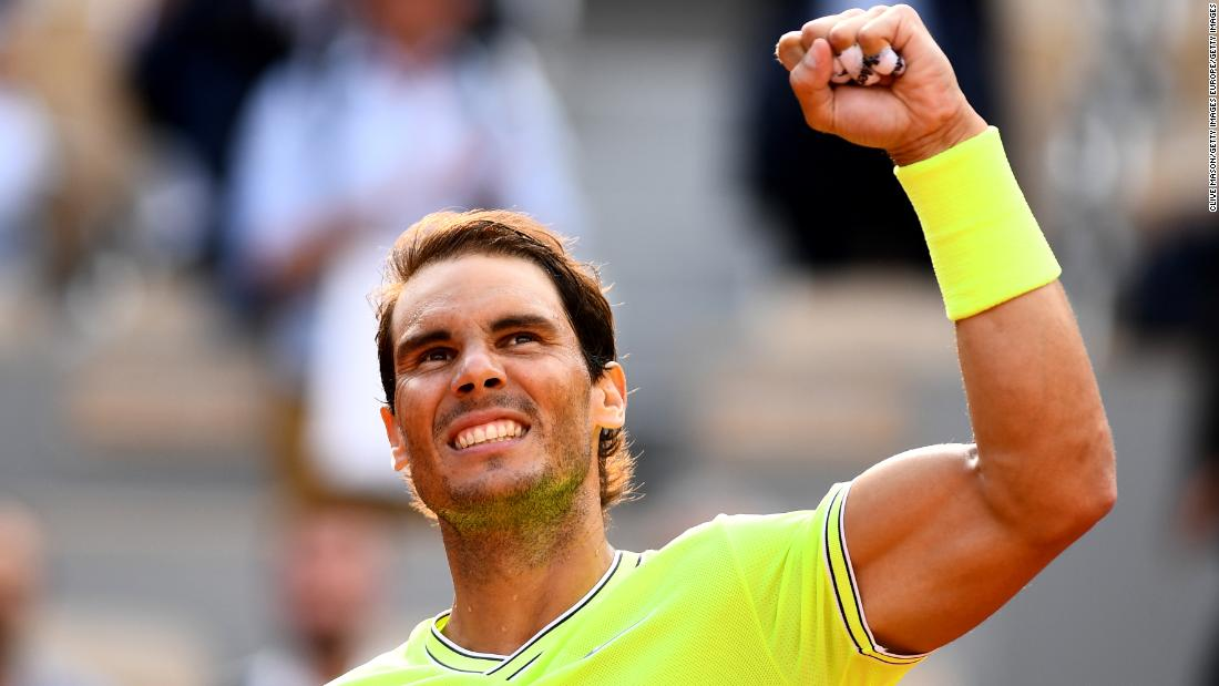 Nadal -- the record 11-time tournament winner -- eased past Kei Nishikori in under two hours.