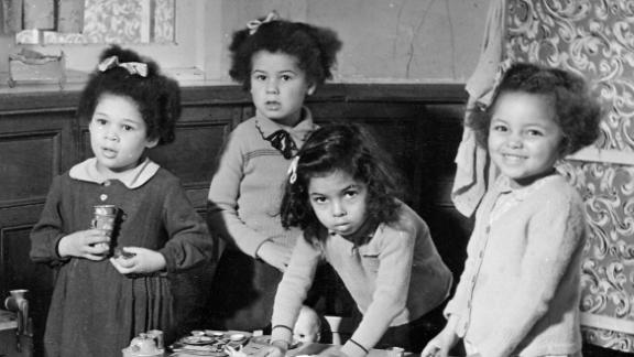 Hundreds of babies born to British women and African-American GIs were placed into care.