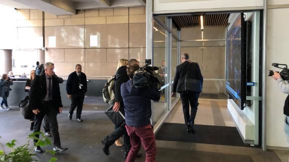 Police entering ABC