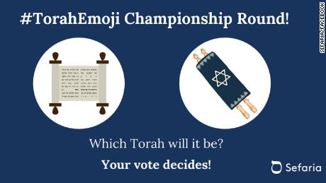 Non-profit Sefaria has a petition to add an emoji of the Torah.