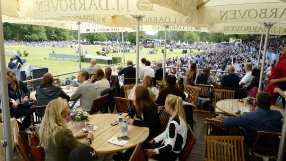 Spectators enjoyed lavish hospitality in the German city as the world